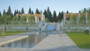 Concept illustration of the new Aga Khan Garden at the University of Alberta Botanic Garden. The new feature garden is scheduled