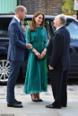 Hazar Imam meets with the Duke and Duchess of Cambridge at the Aga Khan Centre, London  2019-10-02.png