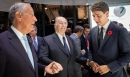 H.H. The Aga Khan greets President de Sousa of Portugal and Prime Minister Justin Trudeau of Canada. AKDN / Cécile Genest