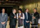 Hazar Imam with Prince Amyn and Prince Hussain at the inaugural Music Awards in Lisbon  2019-03-28