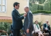 Prince Amyn is conferred with the Medal of Honour of the City of Porto by Mayor Mr Rui Moreira. 2019-07-09